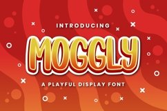 Moggly - A Cute Quirky Font Product Image 1