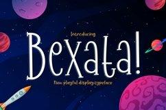 Web Font Bexata Product Image 1