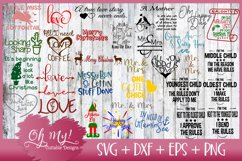 Best Seller OH MY! MASSIVE BUNDLE SALE 220 DESIGNS SVG DXF Product Image 6