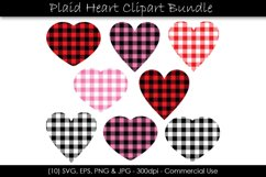 Valentine's Day Buffalo Plaid Hearts Product Image 1
