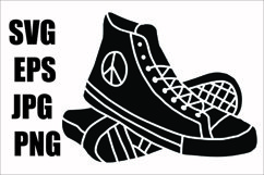 Shoes - SVG-EPS-JPG-PNG Product Image 1