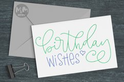Greetings bundle- 25 single line for foil quill & sketch pen Product Image 3