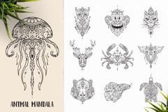 530 Vector Mandala Ornaments Bundle Product Image 4