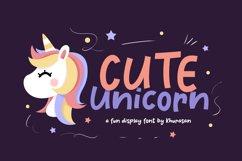 Cute Unicorn Product Image 1