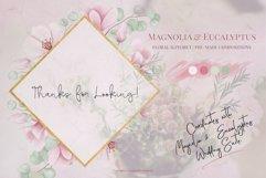 Magnolia & Eucalyptus Floral Alphabet Product Image 5