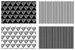 25 unique Hand Drawn Patterns Product Image 13