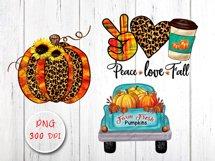 Fall Sublimation Cliparts Bundle Product Image 3