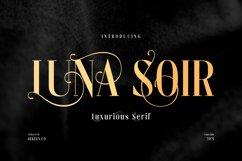 LUNA SOIR - Elegant Typeface Product Image 1