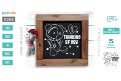 Thinking of You SVG Cut File Product Image 1