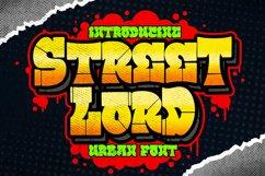 Street Lord Graffiti Font Product Image 1