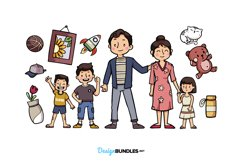 Family Illustrations Product Image 2