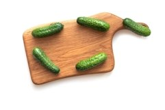 Bundle with fresh vegetables on wooden board. Product Image 3