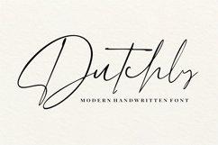 Dutchly - Modern Handwritten Product Image 1