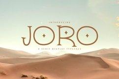 Web Font Joro Product Image 1