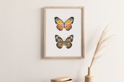 Boho butterfly print, Digital butterfly poster, Spring print Product Image 3