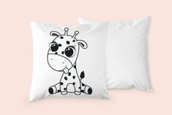 Cute baby giraffe, SVG, PNG, EPS. Product Image 3