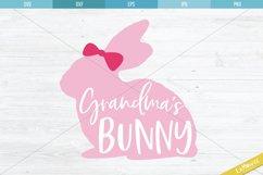 Grandma's Bunny SVG, Bunny Cut File, Grandmas Bunny Product Image 2