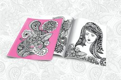 Floral Zentangle Product Image 2