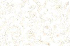Gold Botanical Outline Elements Product Image 3