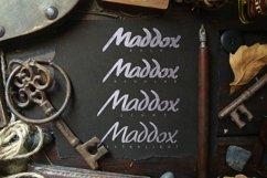 Maddox Hand Brush Typeface Product Image 3