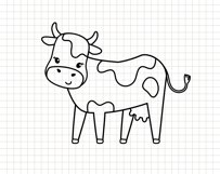 Funny cows clip art Product Image 9