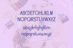 Cute Sans Serif Bullet Journal Font | Modern Scrapbooking Product Image 6