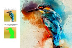 Artistic Watercolor Photoshop action Product Image 7