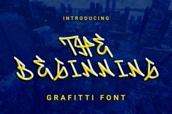 Web Font The Beginning Font Product Image 1