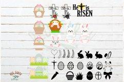 HUGE Easter bundle SVG, Easter bunny,rabbit ears,ester eggs Product Image 4