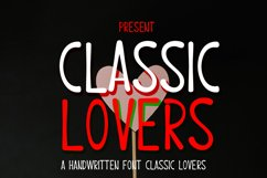 Classic lovers Product Image 1