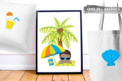 Beach Party  graphics and illustrations Product Image 5
