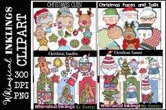 Sweet Christmas -Huge Christmas Clipart Bundle Product Image 3