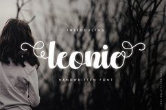 Leonie - A Cute and Beautiful Handwritten Font Product Image 1