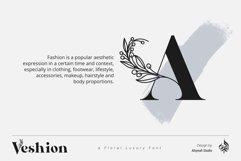 AL Veshion   Floral Spring Font Product Image 2