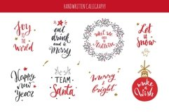 Merry Christmas and New Year doodle and lettering collection Product Image 2