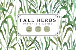 Tall herbs | patterns & motifs Product Image 1