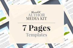 Minimalist Author Media Kit   Media Kit Template Product Image 3