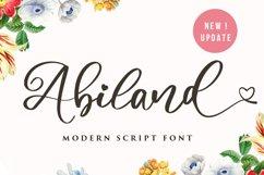Abiland Script Product Image 1