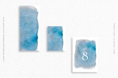 Azure Watercolor Wedding Invitation Suite Product Image 4
