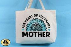 Mothers Day SVG PNG EPS DXF MOTHER SVG Mom Sunflower SVG Product Image 2