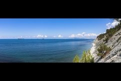 Picturesque summer panoramas on the stone beach. 2 pcs Product Image 2