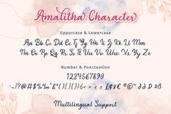 Amalitha - Layered Script Font Product Image 5