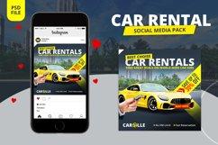 Car Rental Social Media Pack Product Image 1