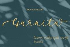 Garnita Script Product Image 1