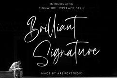 Brilliant Signature Logotype Font Product Image 1