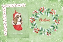 Woof Christmas Watercolor Product Image 4