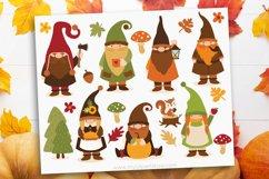 Scandinavian Fall Gnomes Clipart - Vector Clip Art & SVG Product Image 1