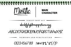 Mintlic Script Font Product Image 5