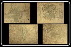 Vintage Antique City World Maps! 32 JPG Files Product Image 5