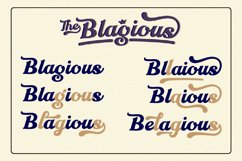 The Blagious Bold Script Product Image 5